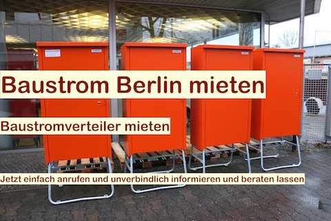 Baustrom Berlin